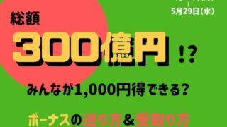 LINE Pay300億円祭